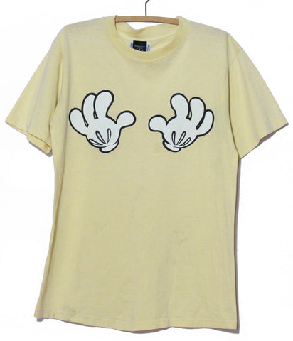 Mickey Mouse Getting Handsy T Shirt