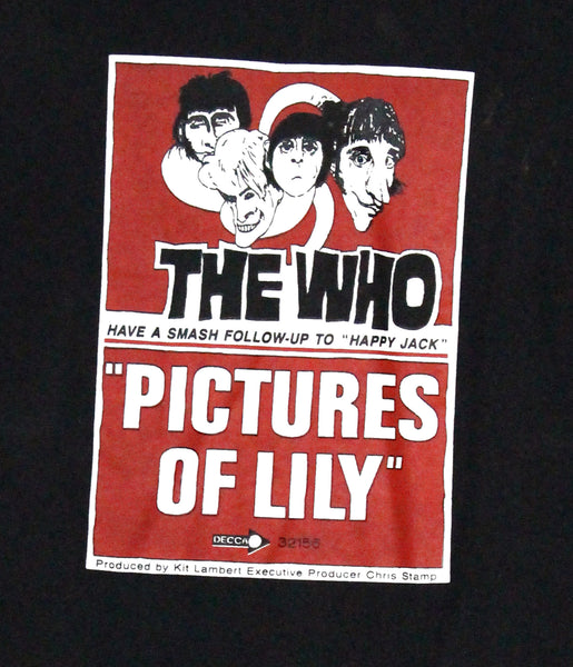 The Who 1985 Vintage T Shirt
