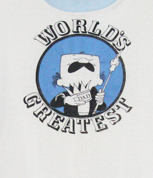World's Greatest Dad Vintage T Shirt