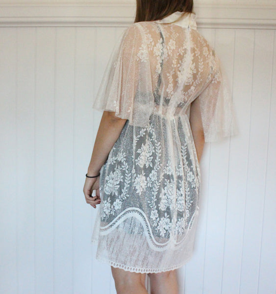 The One Sheer Lace Dress