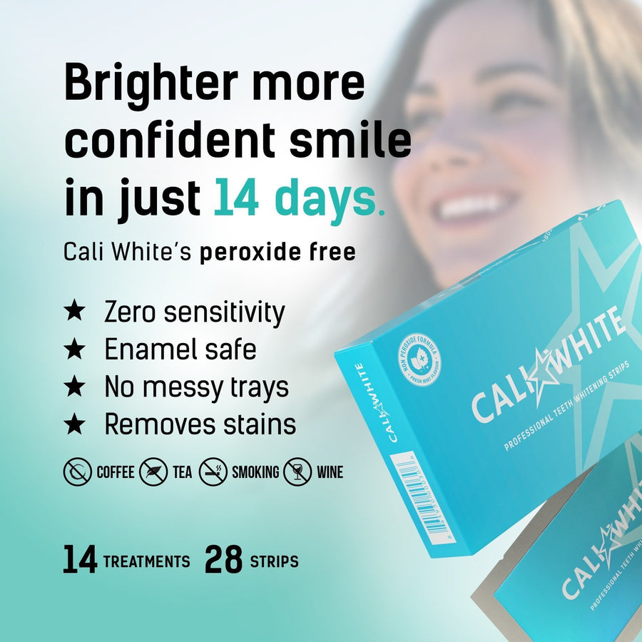 Teeth Whitening Strips Zero Peroxide - Crest Whitestrips United Kingdom