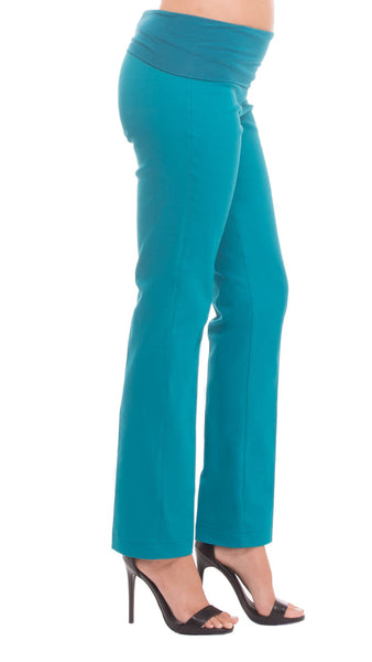 Olian Over/Under the Belly Stretch Twill Skinny Leg Pant