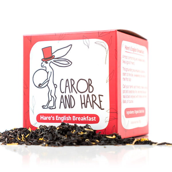 Hare's English Breakfast - Carob and Hare | Raw, Vegan & Gluten-Free Snack Foods