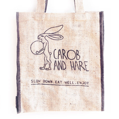 Hare's Eco Friendly Shopping Bag - Carob and Hare