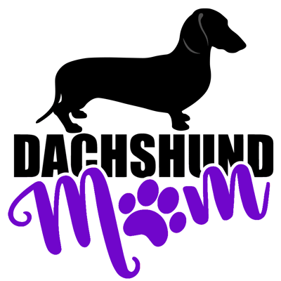 Dachshund Mom SH (Purple)