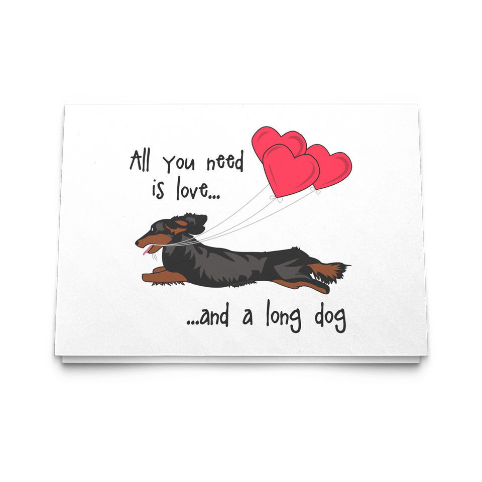 All You Need Is Love LH (B&T) Greeting Cards