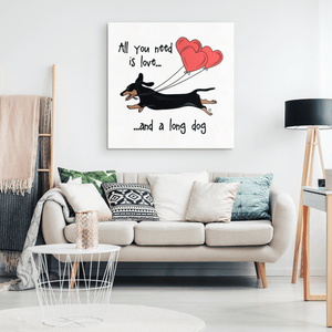All You Need Is Love SH (B&T) Canvas Print