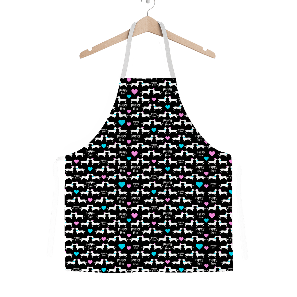 Doxie Puppy Love Classic Apron