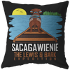 Sacagawienie (dark) Decorative Throw Pillow