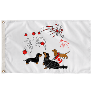 Canada Day Celebration Flag