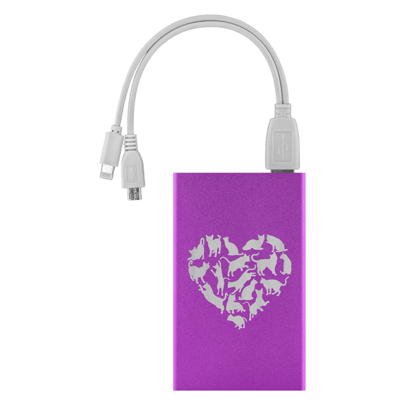 Heart of Cats Power Bank