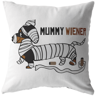 Mummy Wiener Decorative Throw Pillow