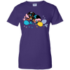 Easter Splash Ladies' 100% Cotton T-Shirt