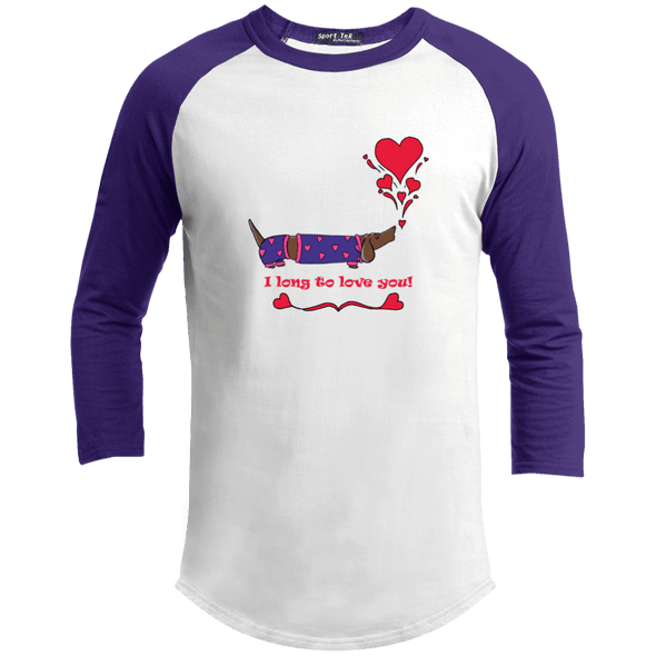 Long To Love You 100% Cotton Baseball Jersey