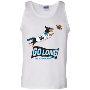 Go Long Carolina 100% Cotton Tank Top
