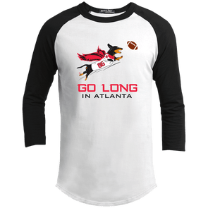 Go Long in Atlanta 100% Cotton Baseball Shirt