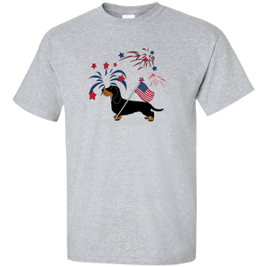 Patriotic Wirehair B&T Ultra Cotton Unisex T-Shirt