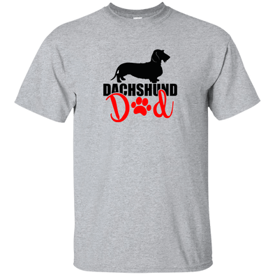 Dachshund Dad Wirehair (Red) Unisex Ultra Cotton T-Shirt