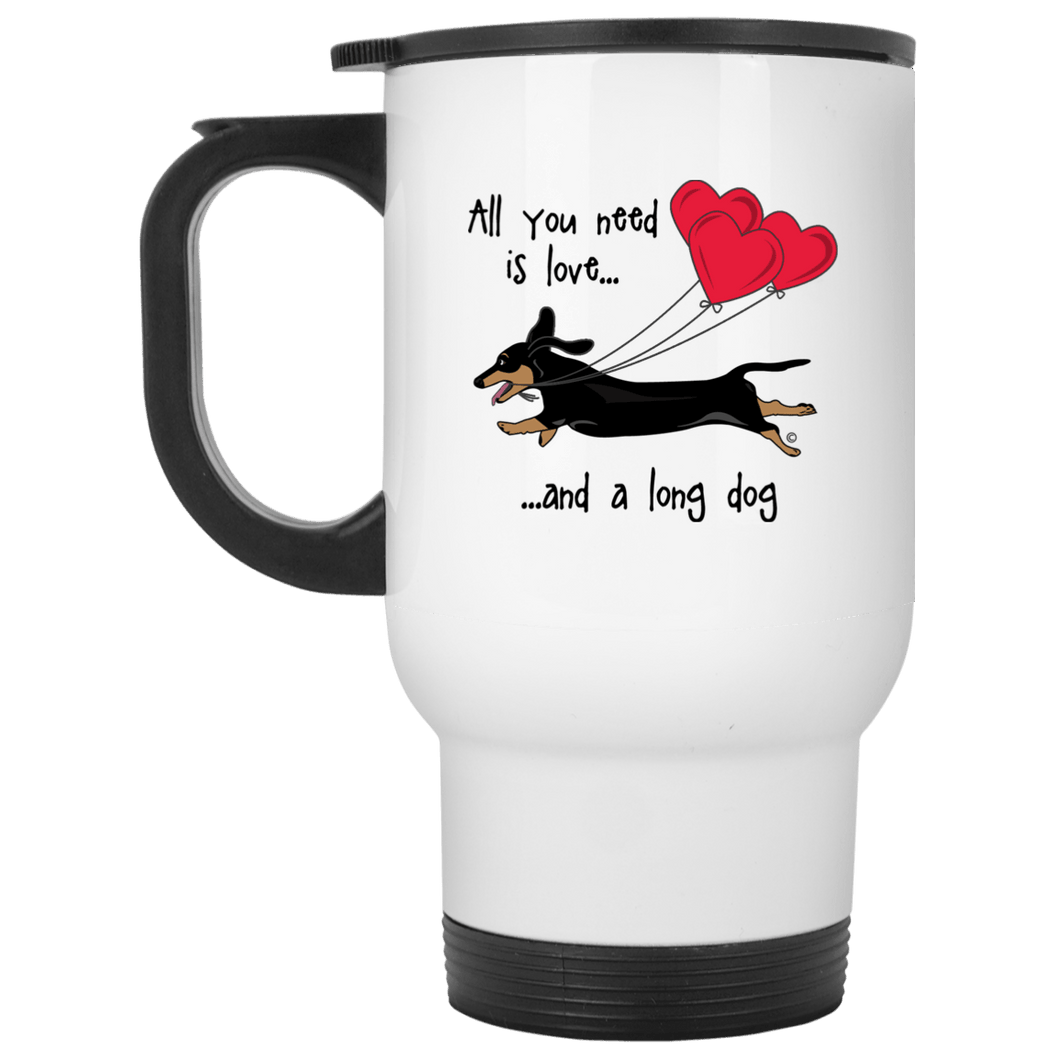 All You Need Is Love SH (B&T) 14 oz Stainless Steele Travel Mug