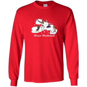 Wiener Wonderland Design 2 LS Ultra Cotton Tshirt