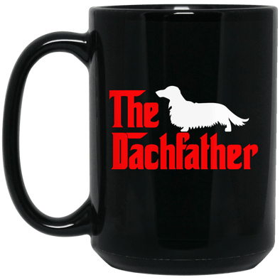 The Dachfather (LH) Black 15 oz. Mug