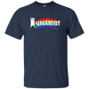 Humanist-White Lettering Ultra Cotton T-Shirt