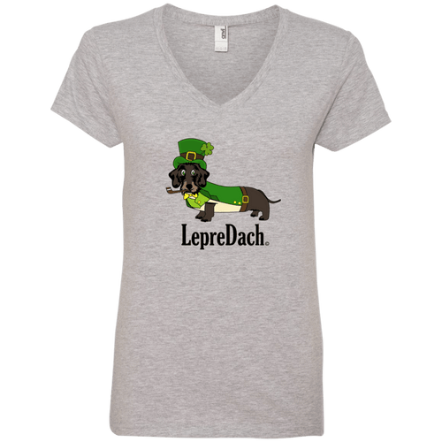 LepreDach Ladies' V-Neck T-Shirt