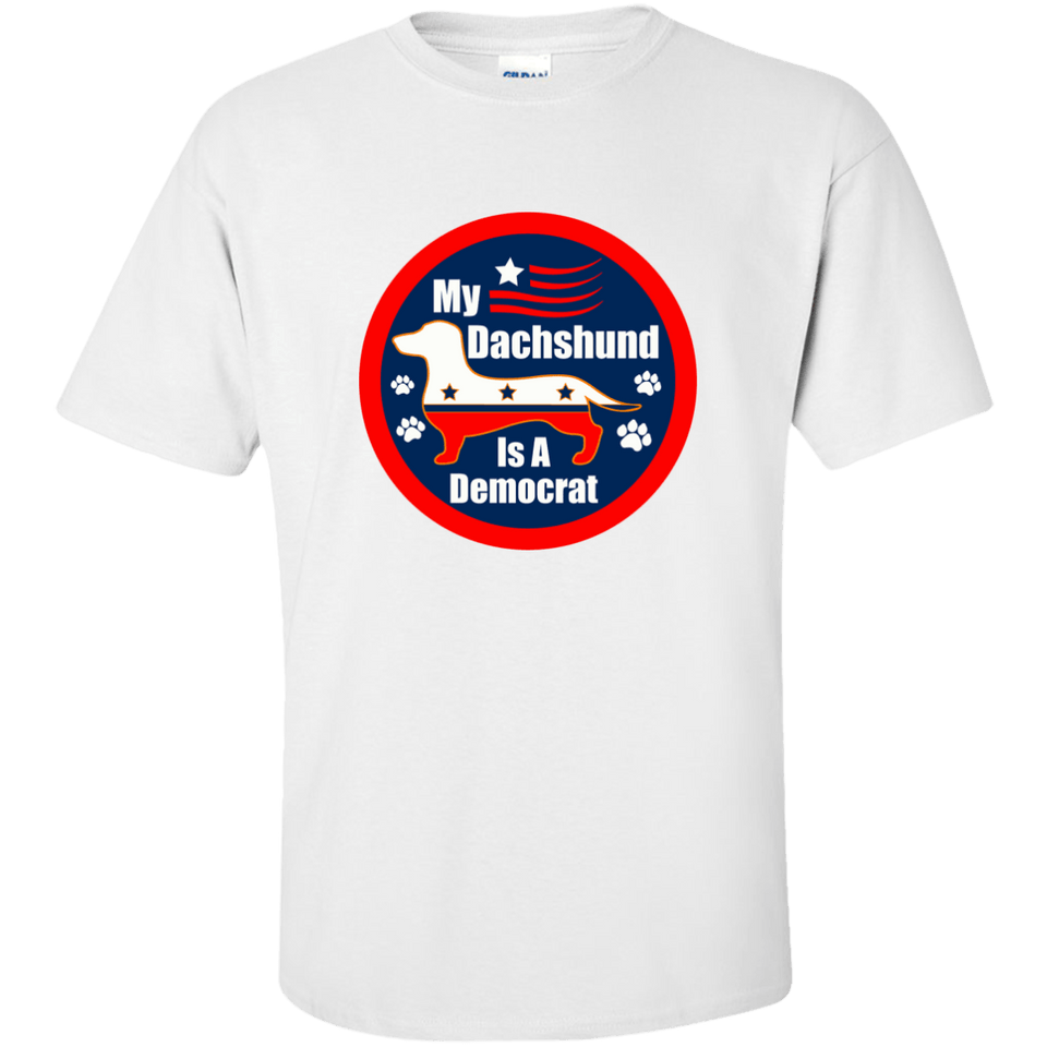 My Dachshund Is A Democrat Ultra Cotton T-Shirt