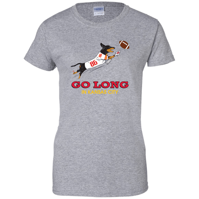 Go Long in Kansas City Ladies' T-Shirt