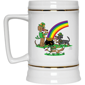 Pot O' Bones 22 oz. Ceramic Beer Stein