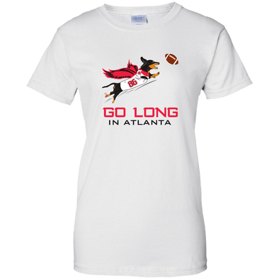 Go Long in Atlanta Ladies' T-Shirt