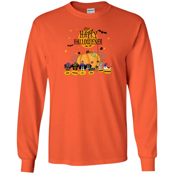 Hallowiener - Cats LS Ultra Cotton T-Shirt