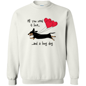 All You Need Is Love SH (B&T) Crewneck Pullover Sweatshirt