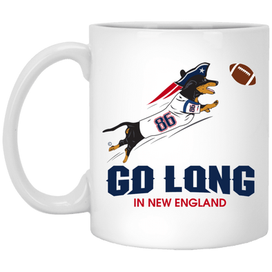 Go Long in New England 11 oz. Ceramic Mug
