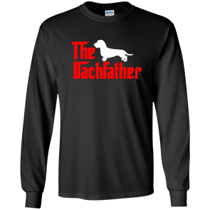 The Dachfather (WH) Unisex LS Ultra Cotton T-Shirt