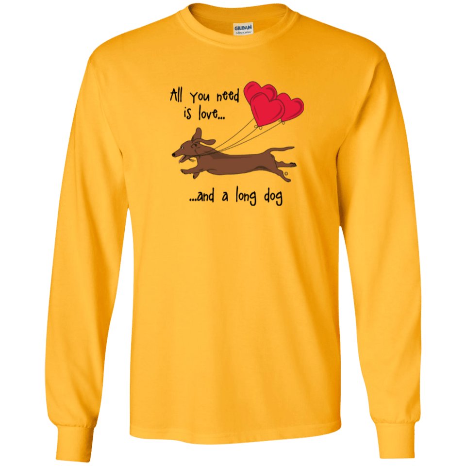 All You Need Is Love (Red) LS Ultra Cotton T-Shirt