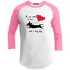 All You Need Is Love SH (B&T) 100% Cotton Baseball Jersey