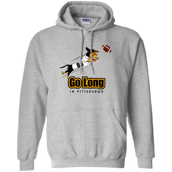 Go Long in Pittsburgh Pullover Hoody