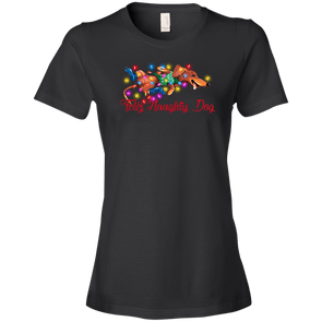 Feliz Naughty Dog Ladies' Lightweight T-Shirt