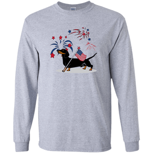 Patriotic Smooth B&T LS Ultra Cotton Tshirt