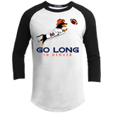 Go Long Denver 100% Cotton Baseball Shirt