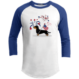 Patriotic Wirehair B&T Baseball Shirt