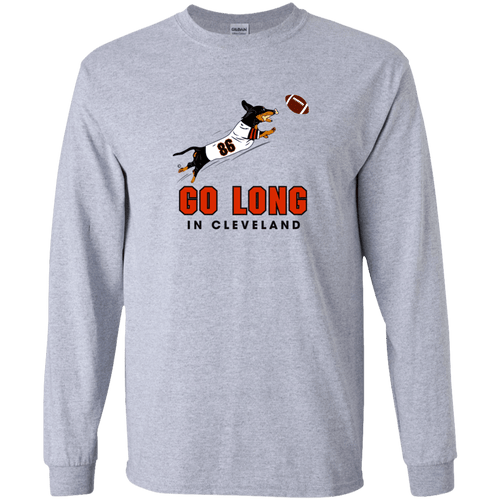 Go Long in Cleveland Unisex LS Ultra Cotton T-Shirt