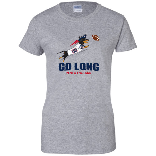 Go Long in New England Ladies' T-Shirt