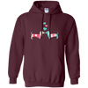 Kissing Doxies Pullover Hoody