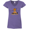 Personalized Hallowieners Ladies' Fitted Softstyle V-Neck T-Shirt