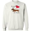 All You Need Is Love WH (Red) Crewneck Pullover Sweatshirt