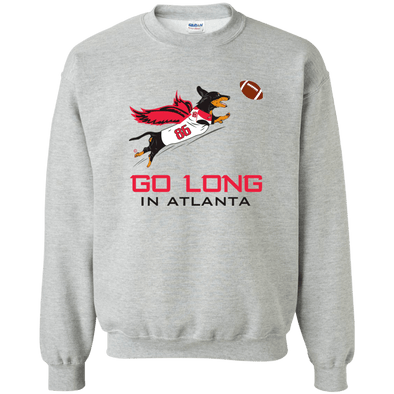 Go Long in Atlanta Crewneck Pullover Sweatshirt