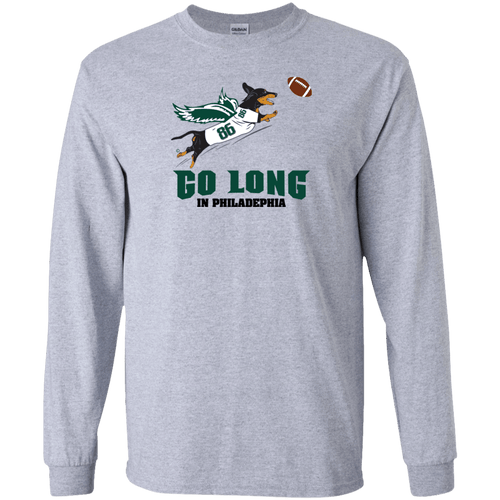 Go Long in Philadelphia Unisex LS Ultra Cotton T-Shirt