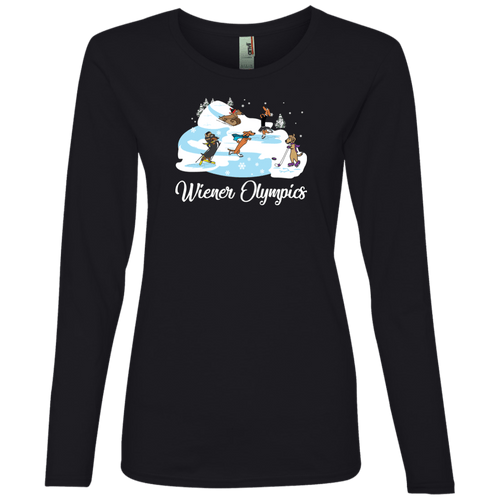 Wiener Olympics Ladies' Lightweight LS T-Shirt